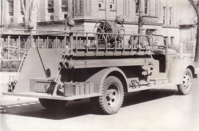USA  1941 Fire Truck GMC No59